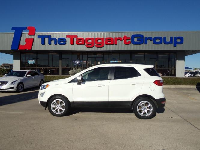 2019 WHITE FORD ECOSPORT SE (MAJ3S2GE7KC) with an 3 engine, Automatic transmission, located at 1609 US Hwy 181, Portland, TX, 78374, (361) 643-6900, 0.000000, 0.000000 - Photo #0
